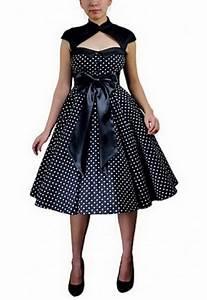 Robe Retro Année 50 : robe annee 50 ~ Nature-et-papiers.com Idées de Décoration