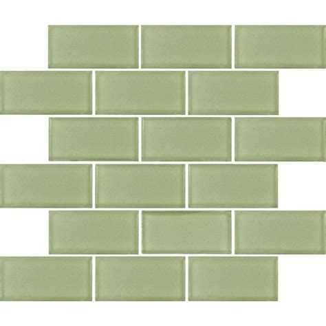 green subway tile ms international mint green subway 12 in x 12 in x 8 mm