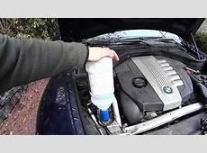 BMW Diesel Exhaust Fluid DEF Refill DIY YouTube