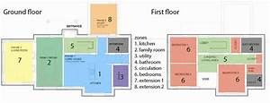 Floor Plans And Spatial Zones Within The House
