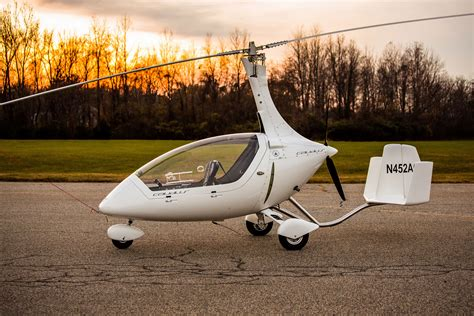 german gyrocopters certified  primary category aopa