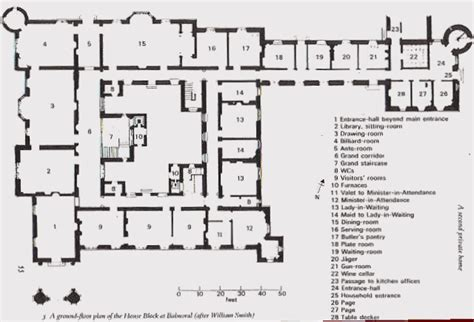 balmoral castle floor plan house highclere castle floor