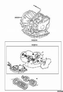 Toyota Matrix Automatic Transmission  Transaxle  Assembly