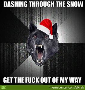 Insanity Wolf Christmas Meme – Festival Collections