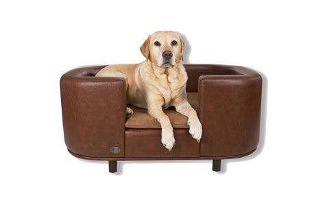 Ruff Barker Sofa Saver Dog Bed Sofa Dog Beds Brown Medium