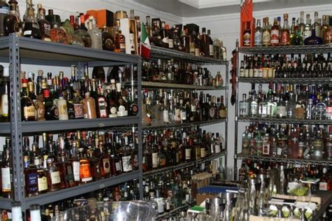 image of liquor storage cabinet where do you keep your liquor spirits chowhound