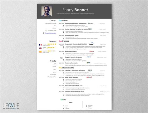 account manager cv template upcvup
