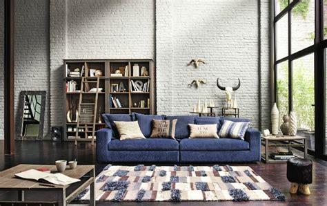 salon du canapé canapé de loft crozatier photo 7 15 le bleu est