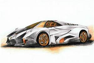 Lamborghini Pencil Drawing at GetDrawings.com   Free for ...