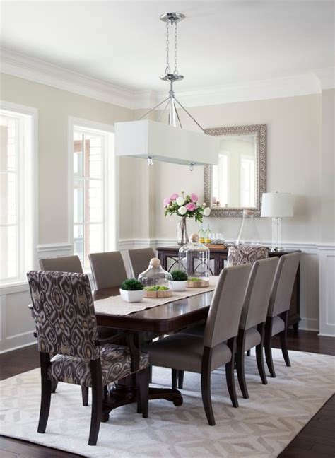 casual elegance traditional dining room austin