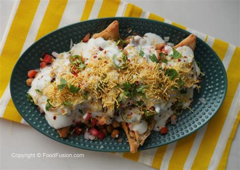 chatpati samosa chaat recipe food fusion