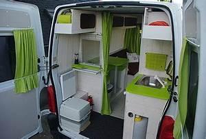 Amenagement Camion Camping Car : interieur fourgon amenage camping car voyage sponsoris ~ Maxctalentgroup.com Avis de Voitures