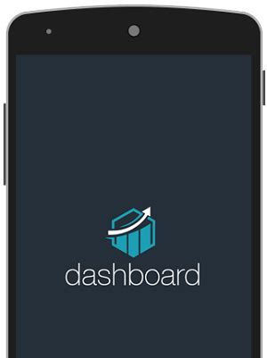 dashboard android app template