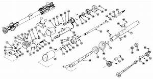Ford Thunderbird Steering Column Parts Diagram