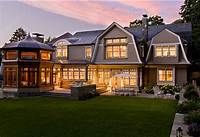 shingle style homes Modern Shingle-Style Home - Home Bunch Interior Design Ideas