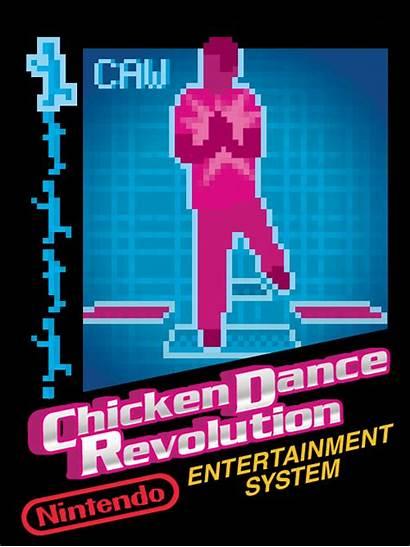 Nintendo Arrested Development Gifs Games Chicken Dance