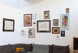 Mur De Photos : id e d co accumulation de tableau sur un mur ~ Melissatoandfro.com Idées de Décoration