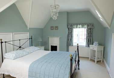 simulation peinture chambre peinture chambre bleu pastel et blanc pour deco apaisante