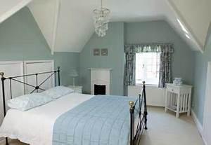 Chambre Mur Bleu. couleur pour chambre parentale comment bien la ...