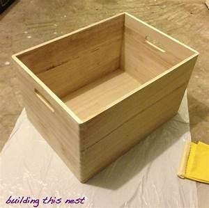 Woodworking Build large wooden storage box Plans PDF