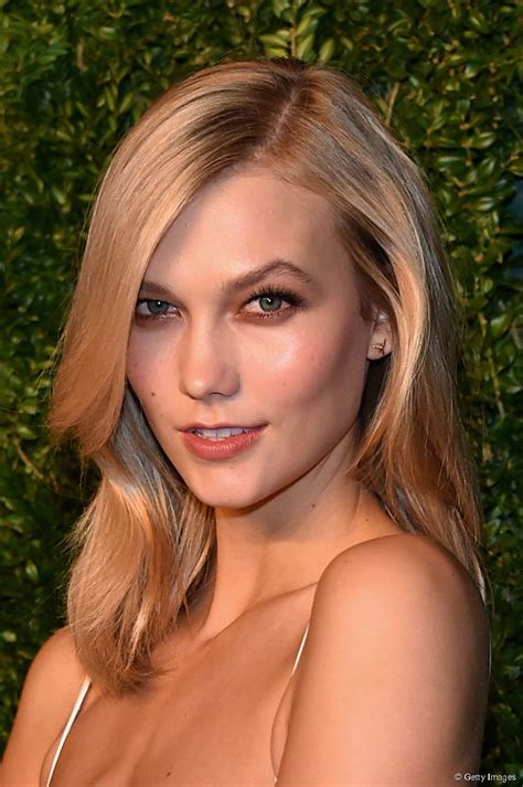 Karlie Kloss Medium Length Hairstyles Copy