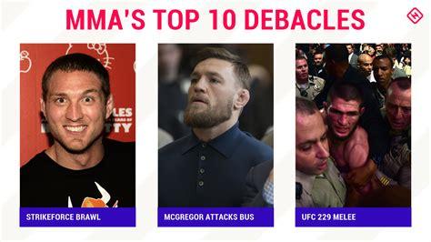 mess mmas top  debacles sporting news