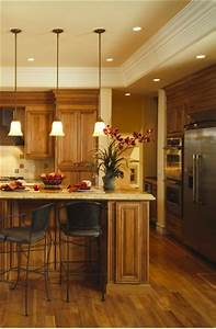 Installing recessed lighting in a kitchen : Kitchen lighting makeover recessed in orange