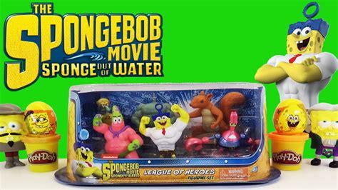 Spongebob Squarepants Sponge Out Of Water Movie League Of
