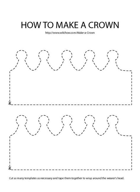 image result  felt crown template krone basteln