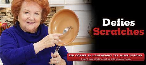 red copper pan review    good nonstick pan