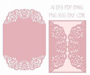 57 best laser cut cricut svg wedding invitation templates for Pocket wedding invitations cricut