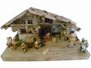 Standard Bilderrahmen Größen : weihnachtskrippe stall mittenwald aus holz handgefertigt in deutschland dekoriert mit ~ Markanthonyermac.com Haus und Dekorationen