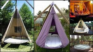 Swing, Bed, Made, From, Recycled, Trampoline, U2013, The, Owner