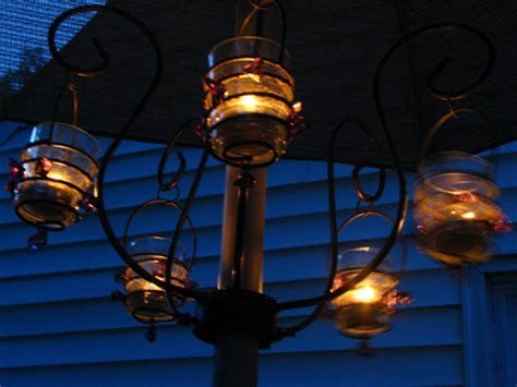5 ways to create ambience with patio umbrella lights