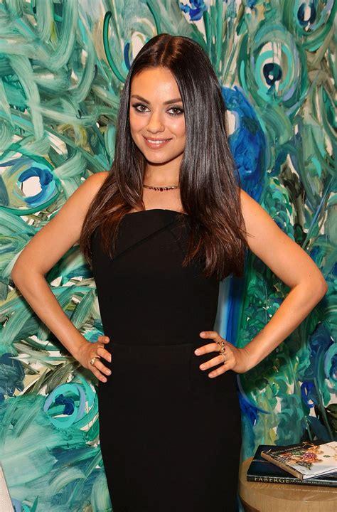 Secrets To Getting Mila Kunis Super Shiny Hair Glamour