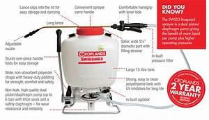 Swissmex Knapsack Sprayer 15ltr With Piston  Diaphragm