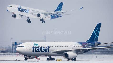 air transat launches yyz zag flight