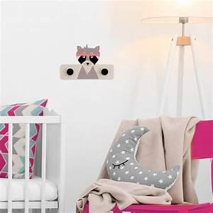 Porte Manteau Chambre : porte manteau raton loveuse en bois chambre d 39 enfant ~ Farleysfitness.com Idées de Décoration