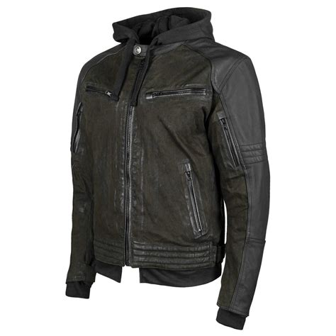 best leather motorcycle jacket speed and strength men 39 s straight savage leather canvas