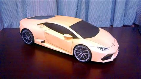 How To Make A Lamborghini by Lamborghini Paper Model How To Make Lamborghini Paper