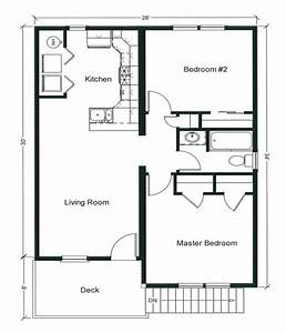 2 bedroom bungalow floor plan plan and two With plan of two bed room