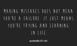 Quotes About Making Mistakes and Learning