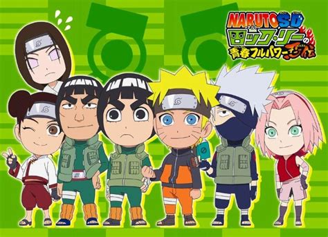 Anime Review: Naruto SD – Rock Lee no Seishun Full Power