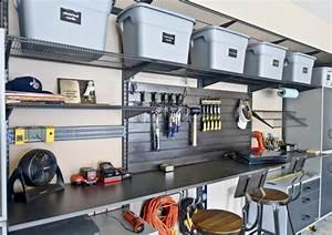 idee de rangement pour garage maison design bahbecom With idee de rangement pour garage