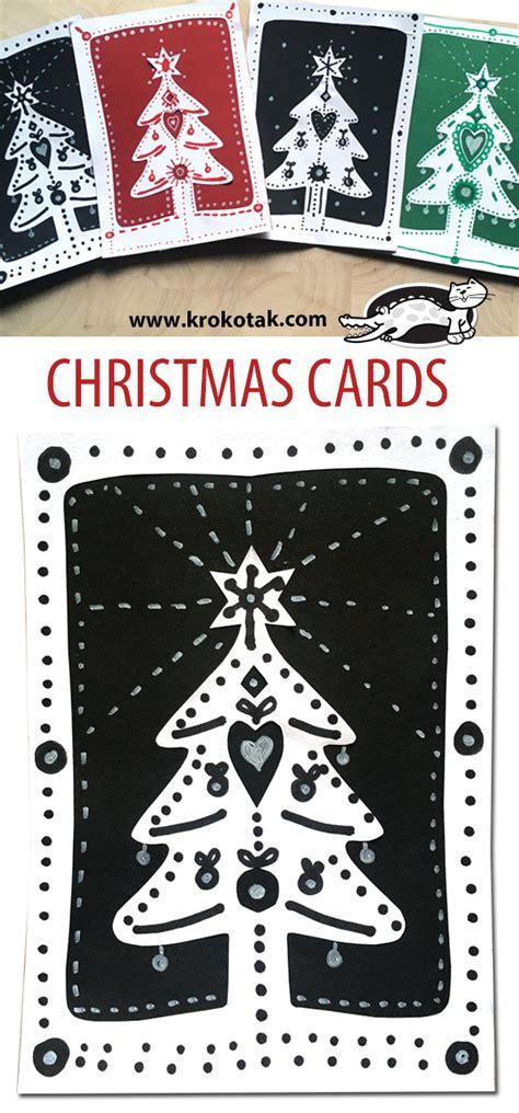 krokotak christmas cards