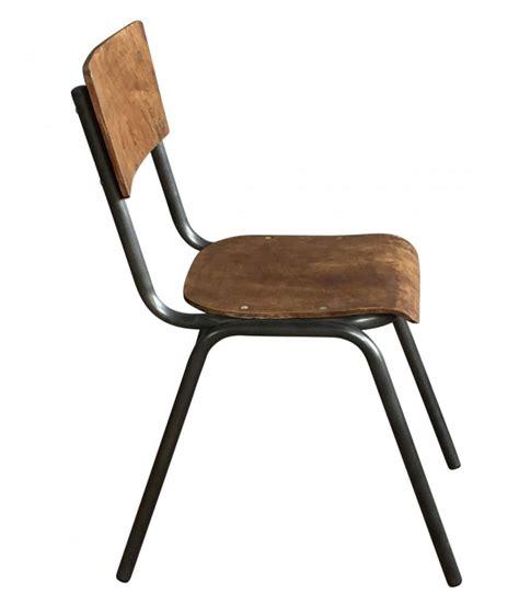 chaise metal vintage chaise écolier vintage bois et métal adulte wadiga com