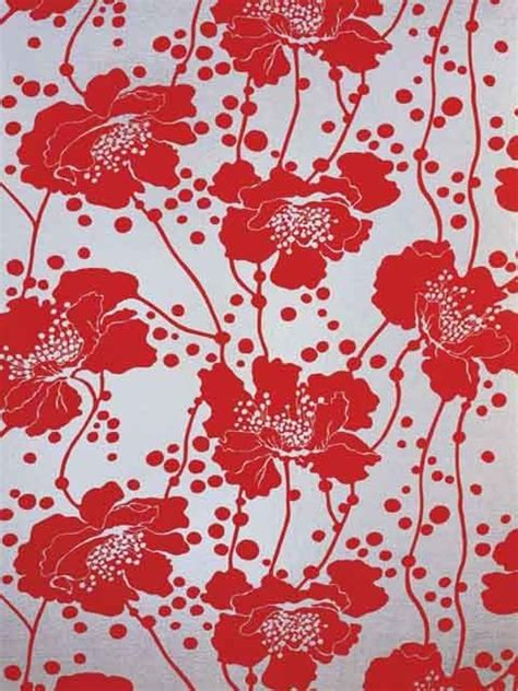 florence broadhurst spotted floral wallpaper wallpaper