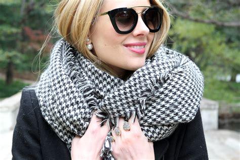 houndstooth scarf fashion jackson