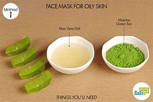 Matcha skin mask
