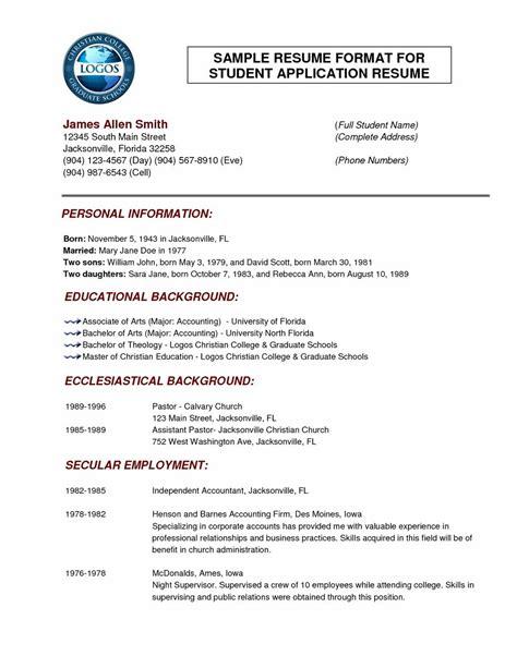 best resume format doc resume template easy